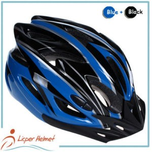PC Printing Shell Bicycle Helmet LH-983 black blue for bike riding protective tools safety accessories