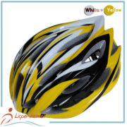 PC Inmold Shell Bicycle Helmet LH-986 yellow for adults bike riding protective tools safety accessories