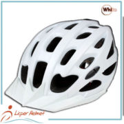 PC Inmold Out Shel Bicycle Helmet LH-987 White for Adults bike racing protective tools safety accessories