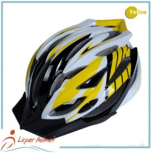 PC Inmold Shell Bicycle Helmet LH-988 yellow for Adults bike racing protective tools safety accessories