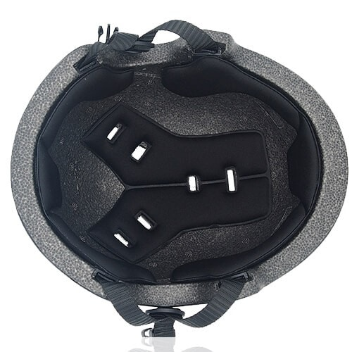Circle Pansy Skate Helmet LH036 Black inner for adults scooter, freestyle roller skater, inline skater and skateboarder safe accessory tools