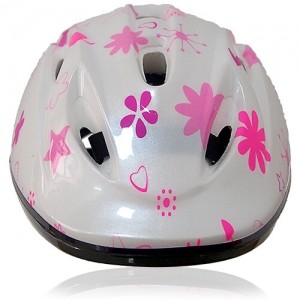 Coffee Cat Kids Helmet LH208 front for child skater, roller, scooter, skateboard, longboard, balance bike and bike sport safe accessory