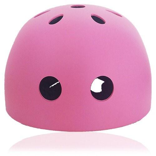 Denim Dog Kids Helmet LH501 front for child skater, roller, scooter, skateboard, longboard, balance bike and bike sport safe accessory