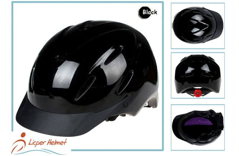 PC coated ABS Horse Riding Helmet LH-LY25 black more for horse riding sport protective tools safety accessories