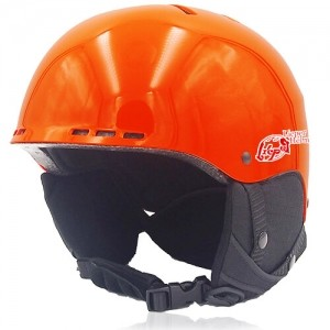 Kind Kiwi Ski Helmet LH038A Orange for adults skiing, snowboarding, ski racing and snow skate safety and warm accessory tools