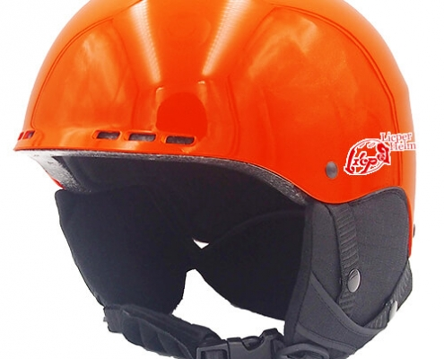 Kind Kiwi Licper Ski Helmet LH038A Orange for adults skiing, snowboarding, ski racing and snow skate safety and warm gear