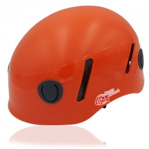 Lucky Liane Climbing Helmet LH208C Orange for adults and kids rock climbing, mountain climbing and indoor climbing safety accessory tools