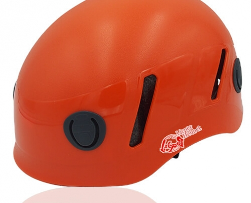 Lucky Liane Licper Climbing Helmet LH208C Orange for adults and kids mountain climb and indoor climb sport safety accessory tools
