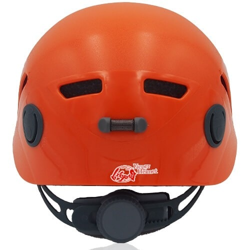 Lucky Liane Climbing Helmet LH208C Orange back for adults and kids rock climbing, mountain climbing and indoor climbing safety accessory tools
