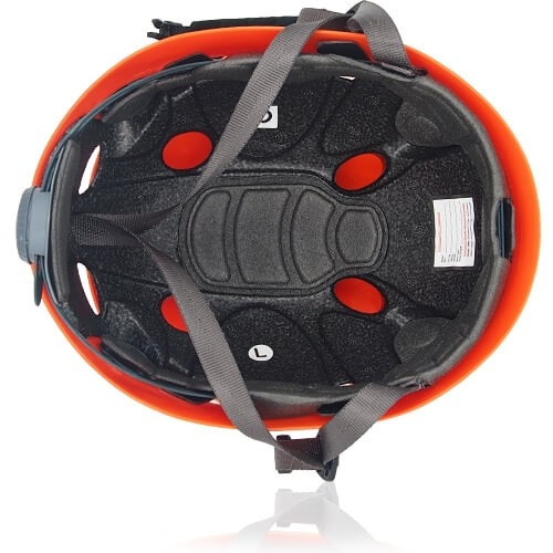 Lucky Liane Climbing Helmet LH208C Orange inner for adults and kids rock climbing, mountain climbing and indoor climbing safety accessory tools