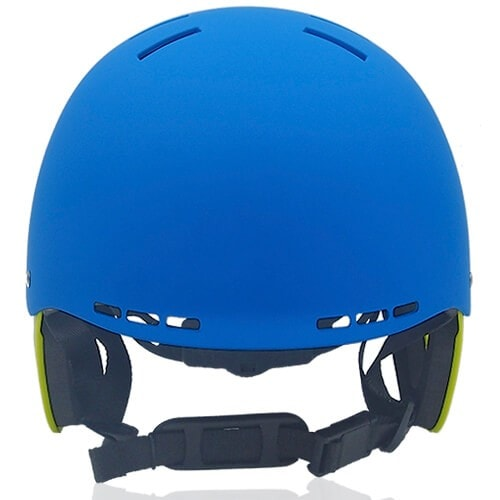 Ms Koala Water-sport helmet LH038W blue front for kids kayak, raft and water skate sport protective safe accessory tools