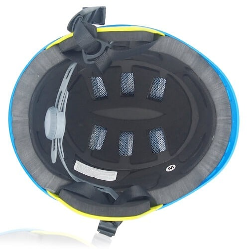 Ms Koala Water-sport helmet LH038W blue inner for kids kayak, raft and water skate sport protective safe accessory tools