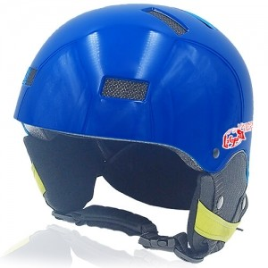 Oily Oak Ski Helmet LH130A Blue for adults skiing, snowboarding, ski racing and snow skate safety and warm accessory tools