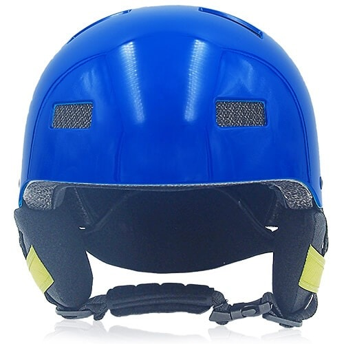 Oily Oak Ski Helmet LH130A Blue front for adults skiing, snowboarding, ski racing and snow skate safety and warm accessory tools