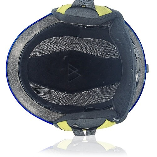 Oily Oak Ski Helmet LH130A Blue inner for adults skiing, snowboarding, ski racing and snow skate safety and warm accessory tools