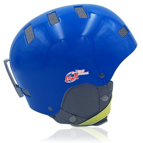 Oily Oak Ski Helmet LH130A Blue side for adults skiing, snowboarding, ski racing and snow skate safety and warm accessory tools