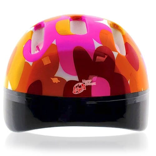 Olive Owl Kids Helmet LH206 back for child skater, roller, scooter, skateboard, longboard, balance bike and bike sport safe accessory