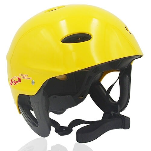 Sir Panda Licper Water-sport helmet LH037W yellow for kayak, raft and water rescue protective safe accessory tools