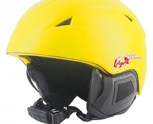 Wise Willow Licper Ski Helmet LH508A Yellow is one of the ski race safety suits for skiing and snowboarding
