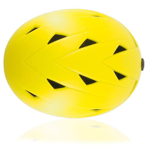 Wise Willow Ski Helmet LH508A Yellow top for adults skiing, snowboarding, ski racing and snow skate safety and warm accessory tools
