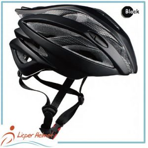 PC Printed Shell Bicycle Helmet LH-938 black for adults bike sport safety accessories