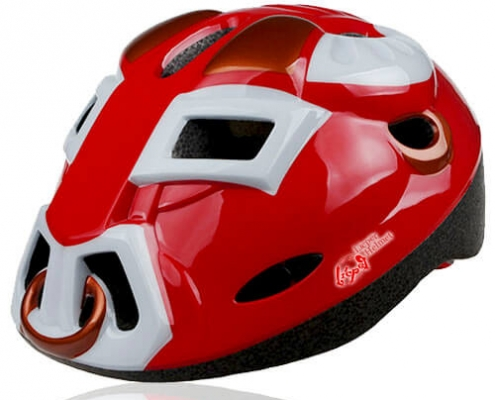 Orange Ox LIcper Kids Helmet LHL02 3D Ox outlook for child skate, roller, scooter, balance bike and cycling sport head protective gear
