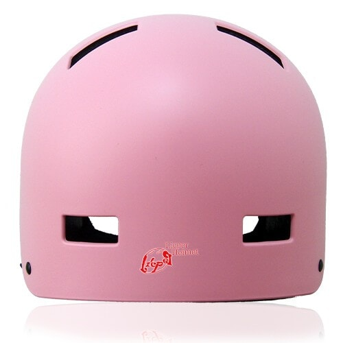 Oval Orchid Skate Helmet LH130 back front for adults scooter, roller skate, skateboard, long board, inline skate and balance bike sport safe accessory tools