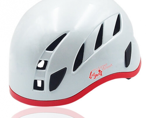 Vivid Vine Licper Climbing Helmet LH215C White for adults and kids rock climbing, mountain climbing and indoor climbing safety equipment