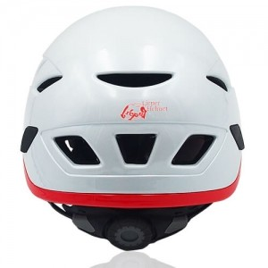 Vivid Vine Climbing Helmet LH215C White back for adults and kids rock climbing, mountain climbing and indoor climbing safety accessory tools