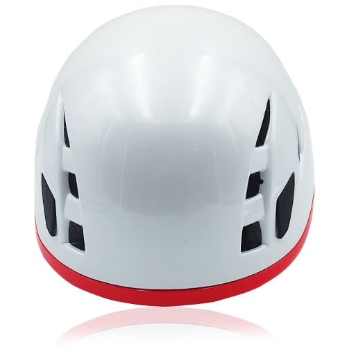 Vivid Vine Climbing Helmet LH215C White front for adults and kids rock climbing, mountain climbing and indoor climbing safety accessory tools