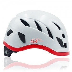 Vivid Vine Climbing Helmet LH215C White side for adults and kids rock climbing, mountain climbing and indoor climbing safety accessory tools