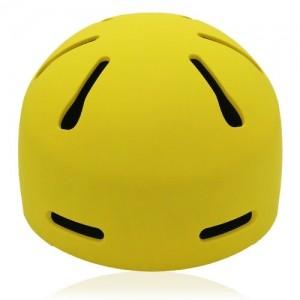 Sphere Sage Licper Skate helmet LH033 Yellow front for children skate, roller, skateboard, inline and balance bike player head equipment