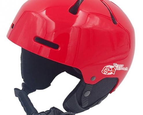 Sweet Shrub Ski Helmet LH033A red for kids skier, children snowboarder and snow skate beginner safe gear