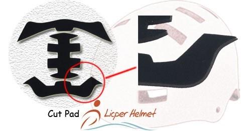 Licper Skate Helmet Cut Pad
