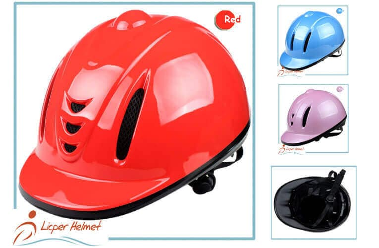 Horse Riding Helmet LH-LY23 red more for horse rider safety protective accessory tools