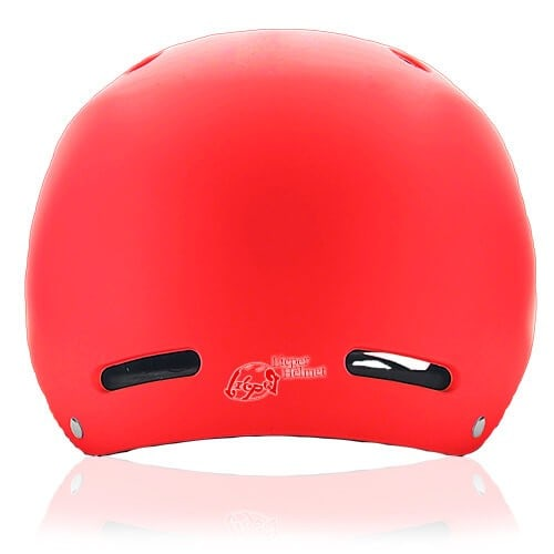Mr Sloth Junior Water-sport helmet LH-033W red back for kids kayak, raft and water skate sport protective safe accessory tools
