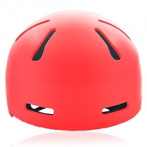 Mr Sloth Junior Water-sport helmet LH-033W red front for kids kayak, raft and water skate sport protective safe accessory tools