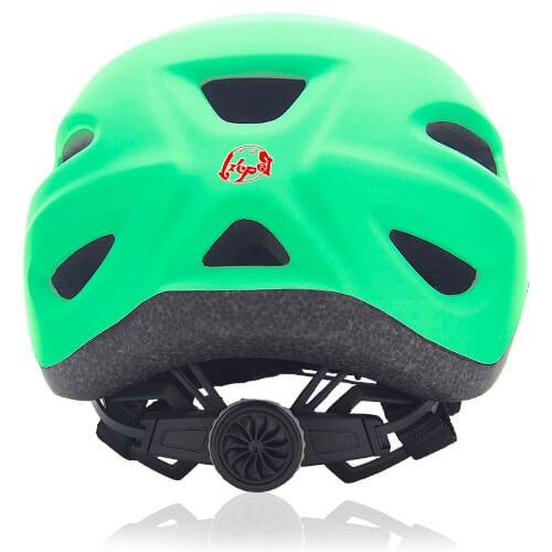 Flax Frog Kids Helmet LH030 back for child skater, roller, scooter, skateboard, longboard, balance bike and bike sport safe accessory