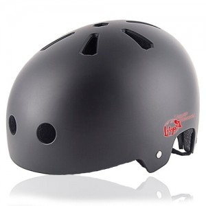 Cube Cactus Skate Helmet LH519 black for adult skater, skateboarder, inline player, roller and scooter safe accessory tools