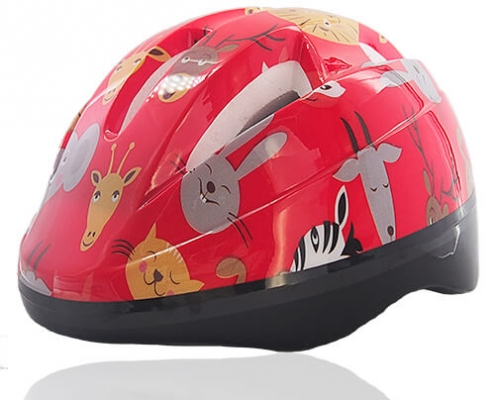 Red Rabbit Licper Kids Helmet LH204 for youth skate, roller, scooter, longboard, balance bike and cycling head safety equipment