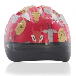 Red Rabbit Kids Helmet LH204 back for child skater, roller, scooter, skateboard, longboard, balance bike and bike sport safe accessory