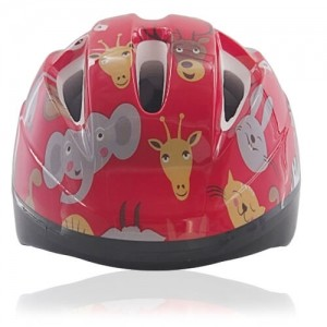 Red Rabbit Kids Helmet LH204 front for child skater, roller, scooter, skateboard, longboard, balance bike and bike sport safe accessory