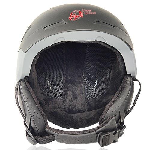 LIcper Skie Helmet Frank Fir LH-808 front for adulte ski sport, snow skate sport and snowboard sport head protective gear