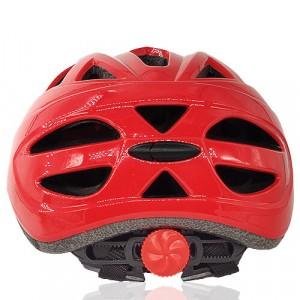 Blue Bee Licper Kids Helmet LH-211 red back for junior outdoor sport as bike riding, skate, balance bike sports head protective gear
