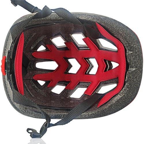 Licper Blue Bee Kids Helmet LH-211 red innfer for kids outdoor sport head protective gear