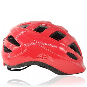 Blue Bee Licper Kids Helmet LH-211 side red for toddler head protection wear when playing outdoor with bike, skate, scooter, roller and balance bike