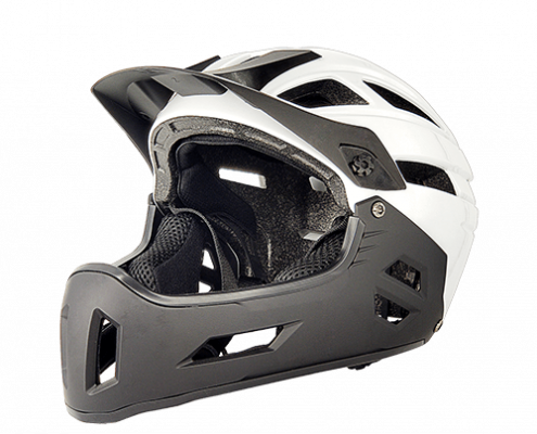 Brave Bear Licper MTB Bicycle Helmet LH-701 White for adults and children mountain bicycle racing sport rider head safety gear